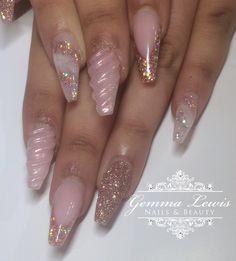 Unicorn Nails by GemLew31