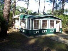 loue caravane 4 places en camping naturiste 3 etoiles, 40560 Vielle-Saint-Girons (Landes)