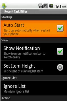"""This is certainly the quickest & simplest task killer on Google Play. Recent Task Killer is Free application on Andriod devices uses less than 0.1% of your memory.<p>Over 5,000,000 users have already enjoyed Recent Task Killer. Join them and Download Free Now!<br>====================================<br> BEST ALTERNATIVE OF Recent Task Killer<br>4 reasons to """"Kill"""" other Process Killer/Task Manager:<br>* Not just saves your battery & memory by killing apps but itself uses much less battery…"""