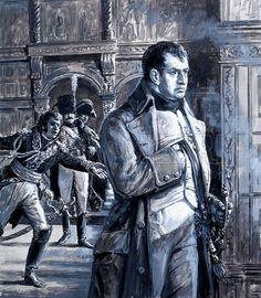picture, Napoleon Bonaparte, France, emperor, Waterloo