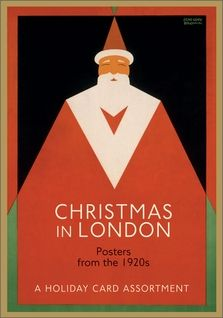 Christmas in London: Posters from the 1920s Christmas Card Assortment