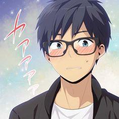 Kaizaki Arata!!!!!!!!!!!!!!!! Koi, Relife Anime, Anime Faces Expressions, Boy Character, Love Illustration, Manga Boy, Cute Anime Guys, Anime Artwork, Anime Couples