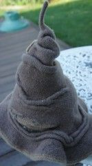 Hogwarts Sorting Hat Knitting Pattern -- free pattern at Ravelry