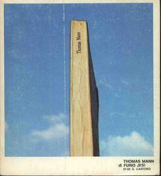 Furio Jesi Thomas Mann  1972 copertina di Mario Mariotti, 16mo quadrato 117pp - Brossura  collana IL CASTORO 67 - 68