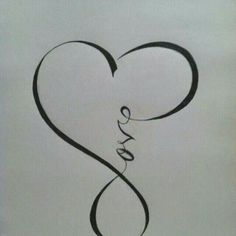 """Love"" tattoo.... Nice because it doesn't have to be ""in love"" but could be self love:)"