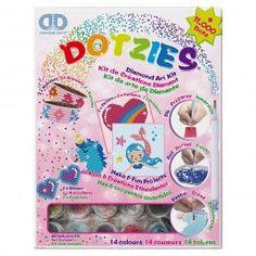 Diamond Dotz - Melon/Donut/Glass - Myperfectday.se Watercolor Fox, Mega Pack, Wall Tattoo, Forest Friends, Diamond Art, New Crafts, Paint By Number, Craft Kits, Kind Mode