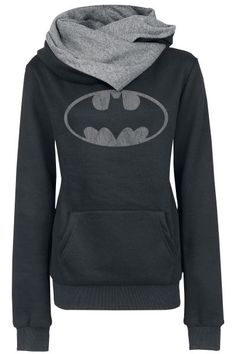 Cheap hoodie sweatshirt, Buy Quality batman hoodie directly from China sweatshirt sweatshirt Suppliers: XUANSHOW Women Autumn Winter Warm Scarf Neck Long Sleeve Pullover Coat Tops Supper Batman Hoodies Sweatshirts Batman Hoodie, Batman Logo, Pastel Outfit, Mode Style, Style Me, Geek Style, Moda Geek, Batman Girl, Estilo Geek