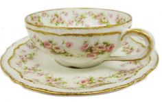Haviland French Limoges china teacup  saucer. #shopgoodwill #auction
