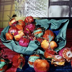 """Daniel Gordon, Clementines from """"Still Lifes, Portraits and Parts"""""""