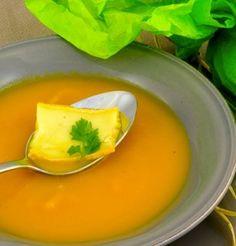 Velouté de potiron au Neuchâtel AOP / Potiron soup in Neuchâtel AOP
