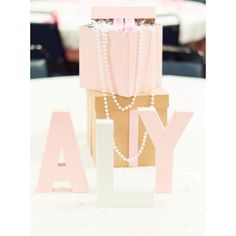 Pink  Pearls themed baby shower designs by yourz truly