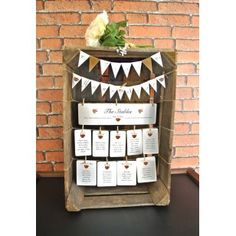 Vintage Apple Crate Table Plan Hire
