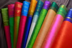 Silk cotton korvai sarees - Vasthram silks