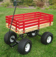 Speedway Swing-Arm Suspension Wagon 24x48 (15x6 wheels)