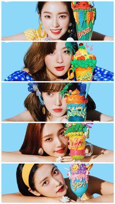 Red Velvet Summer Magic wallpaper for full display smartphone Red Velvet アイリーン, Wendy Red Velvet, Red Velvet Seulgi, Red Velvet Irene, Good Girl, Kpop Girl Groups, Kpop Girls, Velvet Wallpaper, Rv Wallpaper