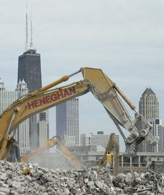 The destruction of Cabrini-Green (Chicago Pin of the Day, 5/1/2014).