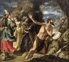 Temptations of Saint Jerome - Juan de Valdés Leal — Google Arts & Culture