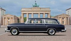 1959 Mercedes Benz 220S Touring