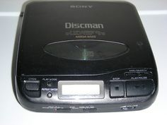 Discman, the only way to have music while walking