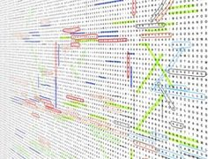 """More """"Wallpaper Games"""" by 5.5 Designers - Word Search wallpaper...where brain tease meets wordplay meets decoration"""