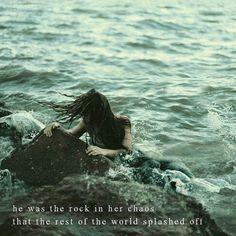 "Splash"" by @atticuspoetry #rock #chaos #love #atticuspoetry"