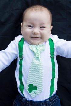 a0c708009 Cute baby boy St. Patrick's Day outfits St Patrick's Day Outfit, Outfit Of  The