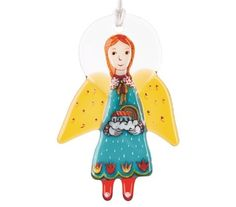 $17.00 Stained Glass Angel http://catalog.obitel-minsk.com/s-54163-angel.html?&___store=default#!prettyPhoto[media_gallery]/7/ #glass #gifts #souvenirs #fusing #Christian #christmas #crafts #decorations #decor #tree #angel #workshop #orthodox #convent #catalog #catalogue #toys
