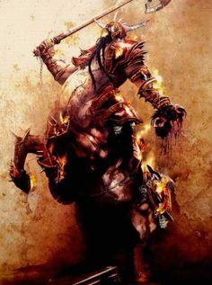 Dawi Zharr Centaur-Rik