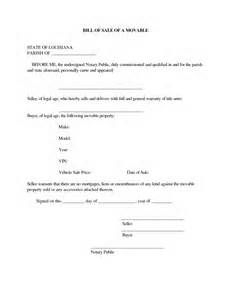 free bill of sale form - - Yahoo Image Search Results