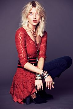 from the Free People January 2013 Lookbook