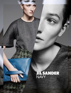 JIL SANDER NAVY FALL/WINTER 2014/15 CAMPAIGN PREVIEW