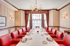 Private Dining Room Drake Hotel, Club International, Private Dining Room, Conference Room, Table, Furniture, Home Decor, Decoration Home, Room Decor