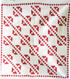 Barbara Brackman's MATERIAL CULTURE: Red & White Quilts