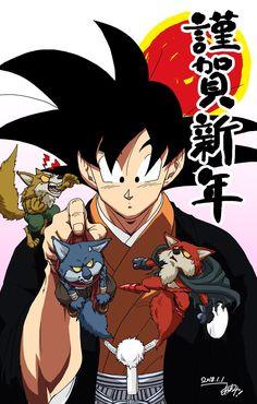 Goku, Bergamo, Lavender, and Basil