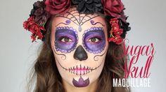 Tuto Maquillage Halloween Sugar Skull