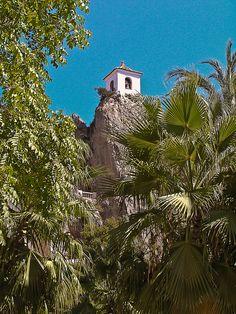 Campanário de Guadalest, Benidorm, Alicante, Spain