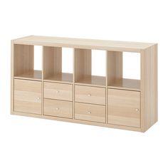KALLAX Etajeră cu 4 inserturi  - IKEA