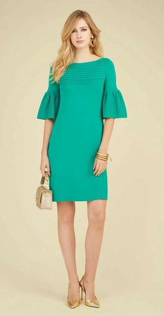 Look 74 - outfits Simple Dresses, Elegant Dresses, Cute Dresses, Beautiful Dresses, Casual Dresses, Short Dresses, Fashion Dresses, Sleeves Designs For Dresses, Chic Dress