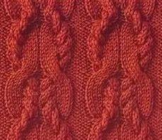 """Книга Т. Б. Чижик """"Самоучитель по вязанию"""" Приемы вязания жгутов. Узоры с перехватами. Часть 1. Урок 17."""