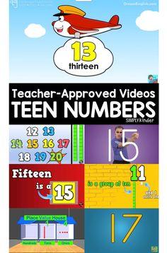 Teacher-Approved Teen Video  List - Simply Kinder #videosthatteach