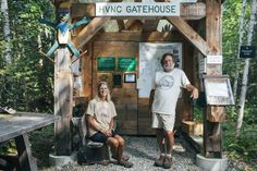 The husband-and-wife team behind the Midcoast preserve never dreamed of a robust community center.