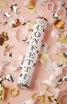 Say goodbye in style with confetti!