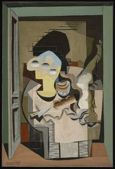 Louis Marcoussis, Anvers (Cubist Composition) (1928), via Artsy.net