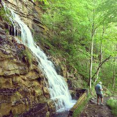 West Virginia waterfall Photo by Tamara Fitzpatrick