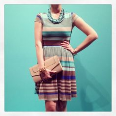 New Arrivals :: Patty Pool Dress, $43 (accessories via Twelve Oaks) xoxo