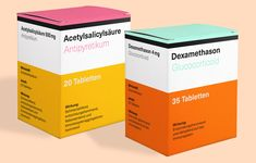 Neue Haas Unica Fictitious use-case, designed by Alexander Roth. Drug Packaging, Medical Packaging, Packaging Design, Product Packaging, Typo Poster, Font Shop, Sans Serif Typeface, Use Case, Bottle Design