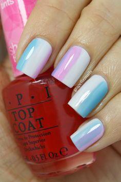 OPI Sheer Tints - grape fizz nails
