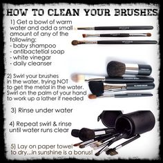 Do not use those tricks where people say to put them in the dishwasher, throw them in the washing machine, soak them all day long in vinegar.... I have done that and ruined many many many brushes. Just be gentle with them and they will last!!!