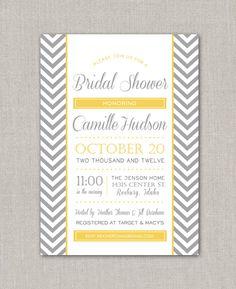 Unique bridal shower invitations! Check out invitations and bridal supplies at MyBrideGuide.com