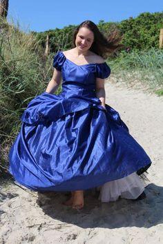 Big Skirts, Big Dresses, Prom Dresses, Formal Dresses, Satin Gown, Satin Dresses, Beautiful Wedding Gowns, Beautiful Dresses, Southern Belle Dress